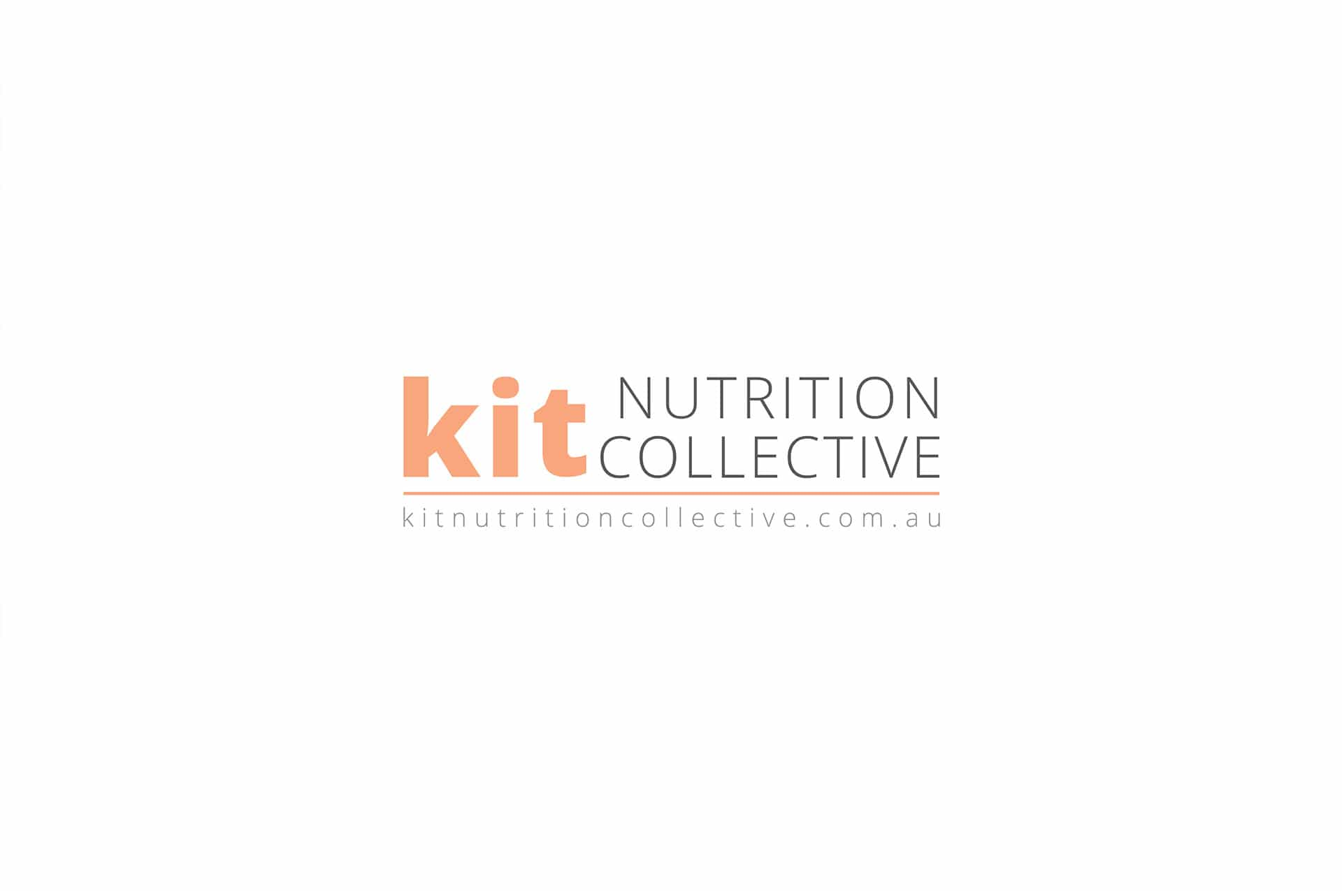 A new logo and branding design for Kit Nutrition Collective | Newcastle Creative Co